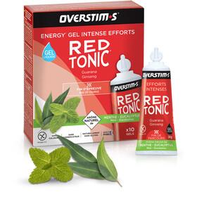 OVERSTIM.s Red Tonic Liquid Gel Box 10x30g, Mint Eucalyptus